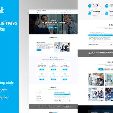 Template Afaceri HTML, JS şi CSS #103997
