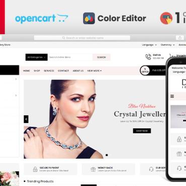 Template Modă OpenCart #104268
