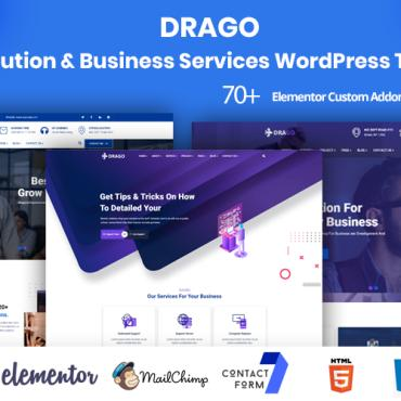 Template Afaceri WordPress #104270