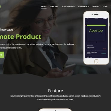 Website Template № 104282