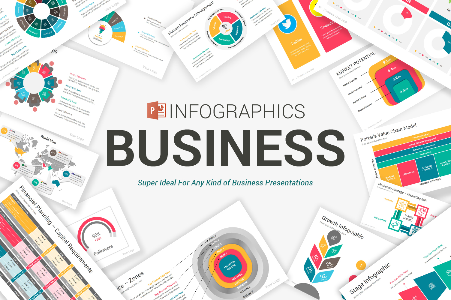 Business Infographics PowerPoint Template