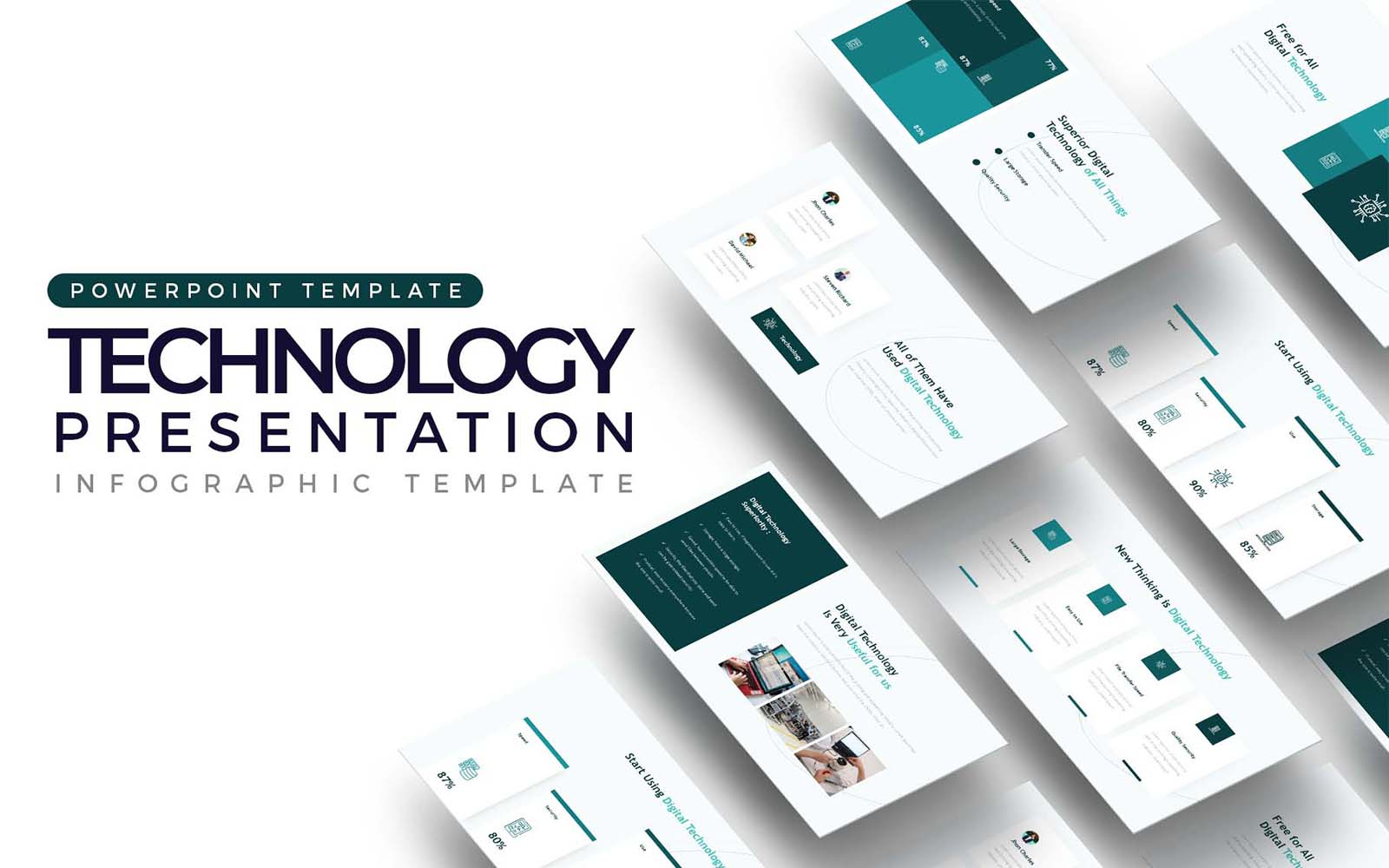Technology Presentation PowerPoint Template
