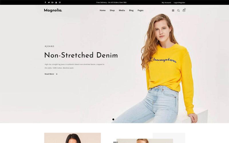 Magnolia WooCommerce Theme