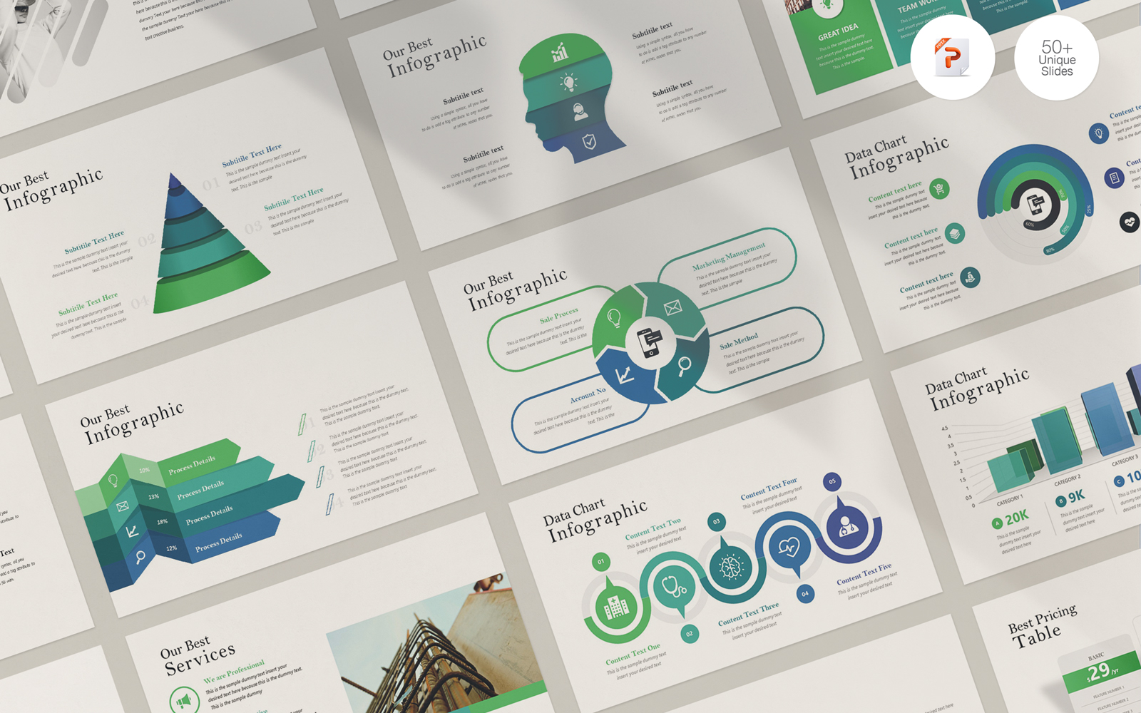 Infographic System PowerPoint Template