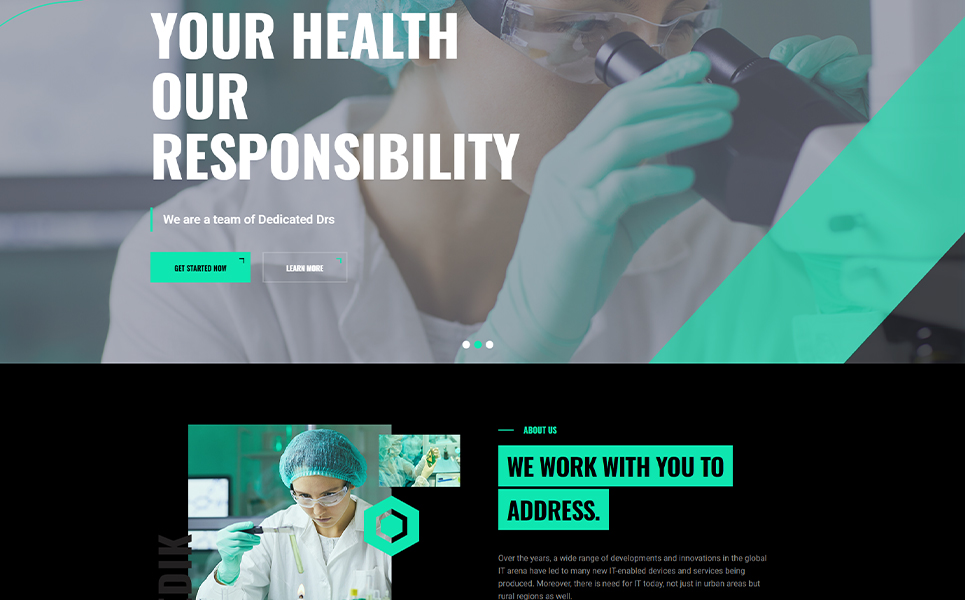 Medik |  Multipurpose Research HTML5 Template Website Template