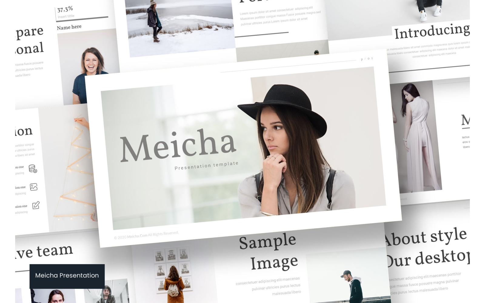 Meicha PowerPoint Template