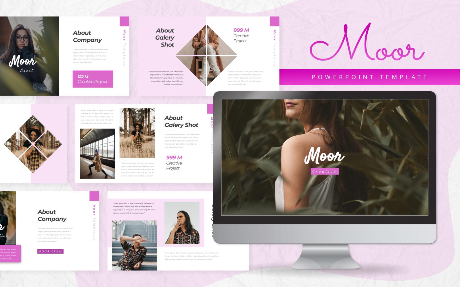 Moor - Creative PowerPoint Template