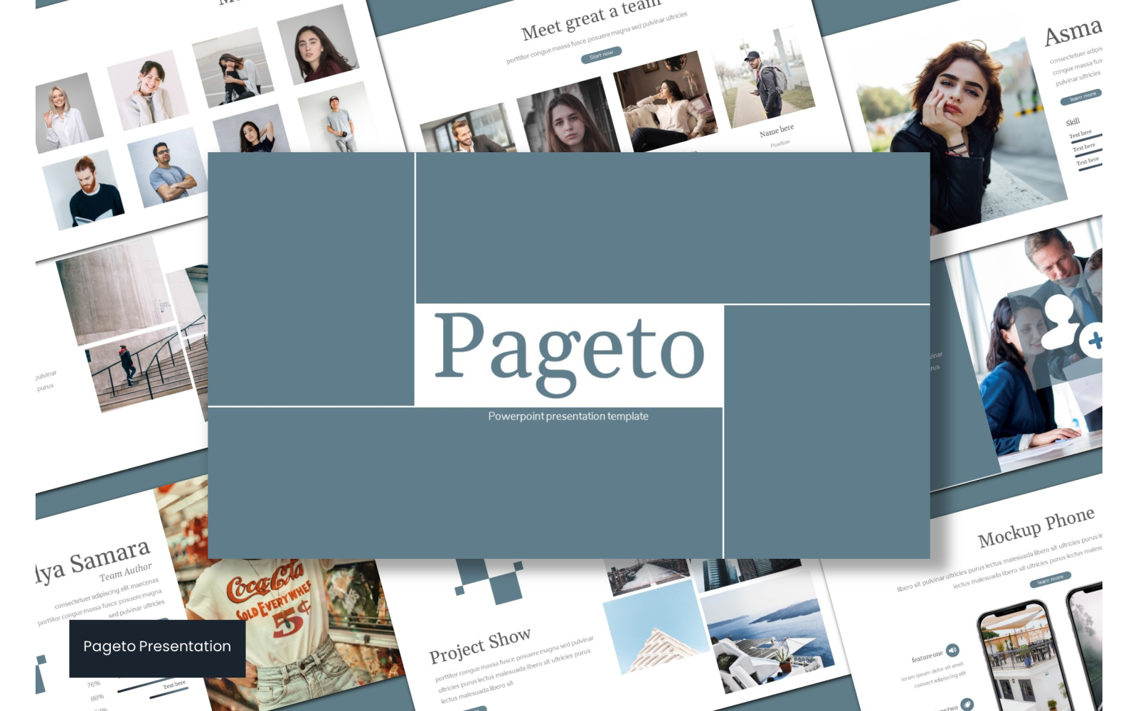 Pageto PowerPoint Template