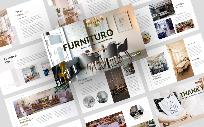 Furnituro PowerPoint Template