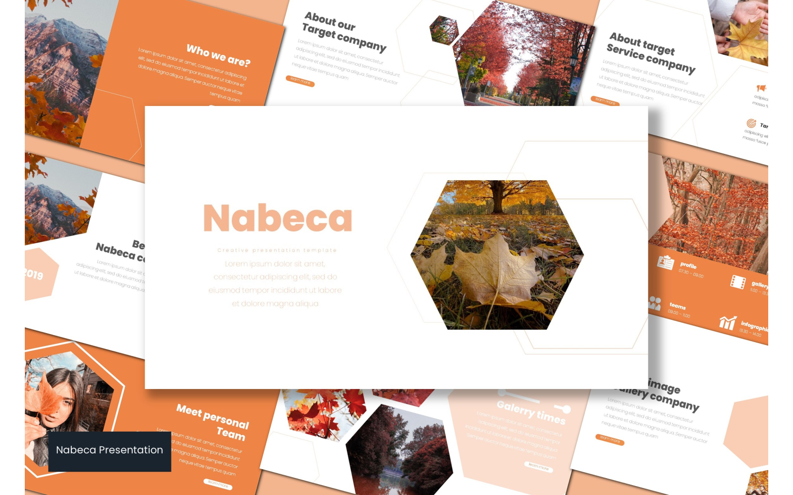 Nabeca PowerPoint Template
