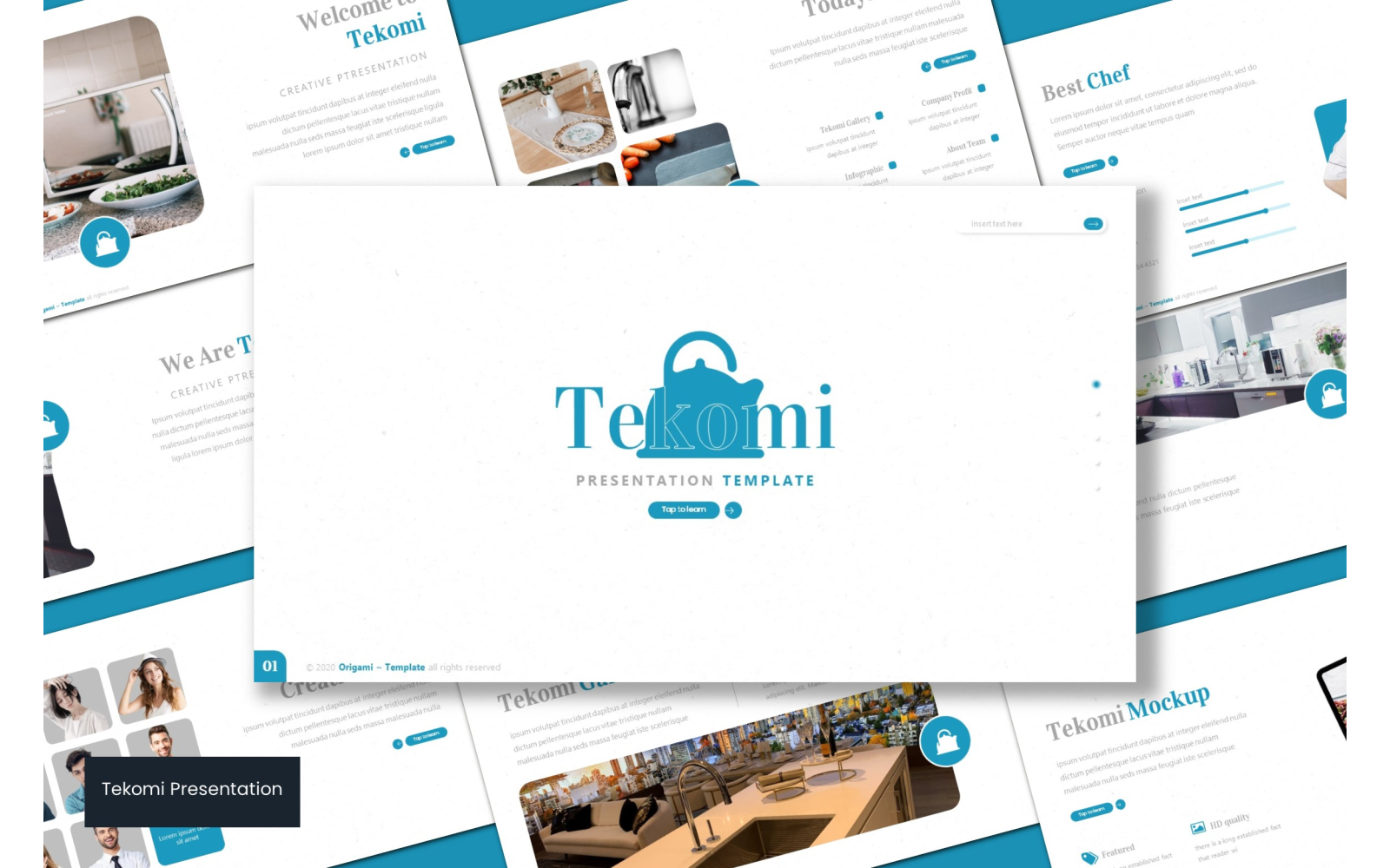 Tekomi PowerPoint Template