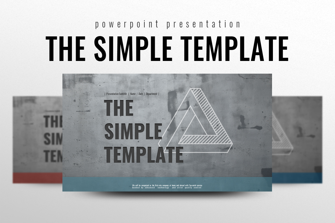 The Simple PowerPoint Template