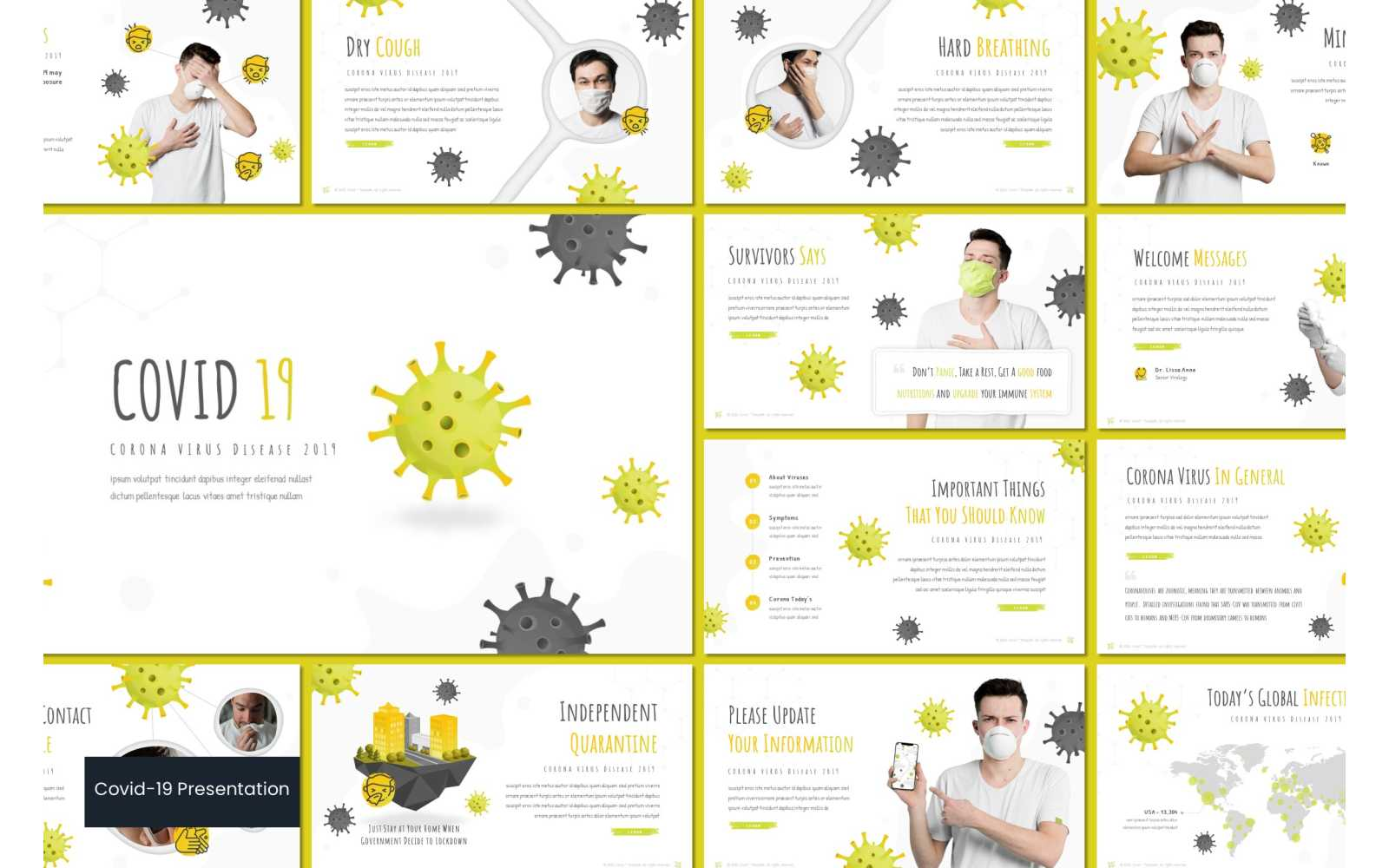 Covid 19 PowerPoint Template