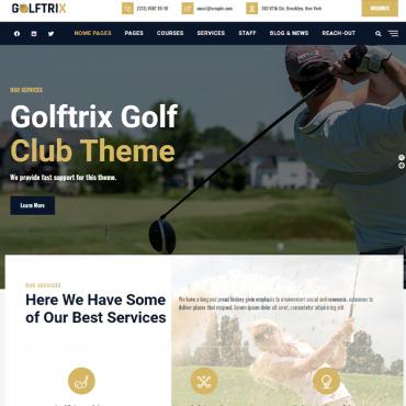 Template Sport WordPress #107308