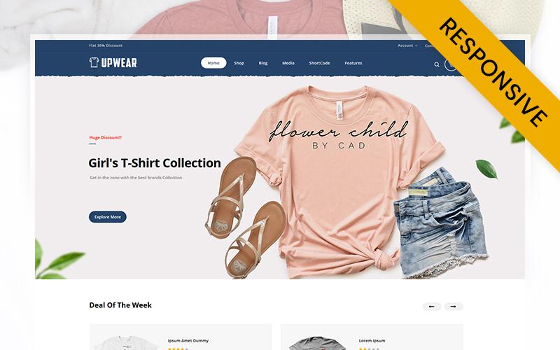 Upwear - Tshirts Store WooCommerce Theme