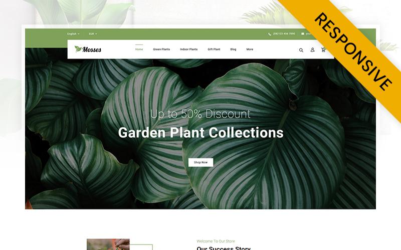 Mosses Plant Store PrestaShop Theme