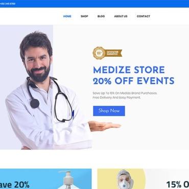 Template Medicină WooCommerce #107568
