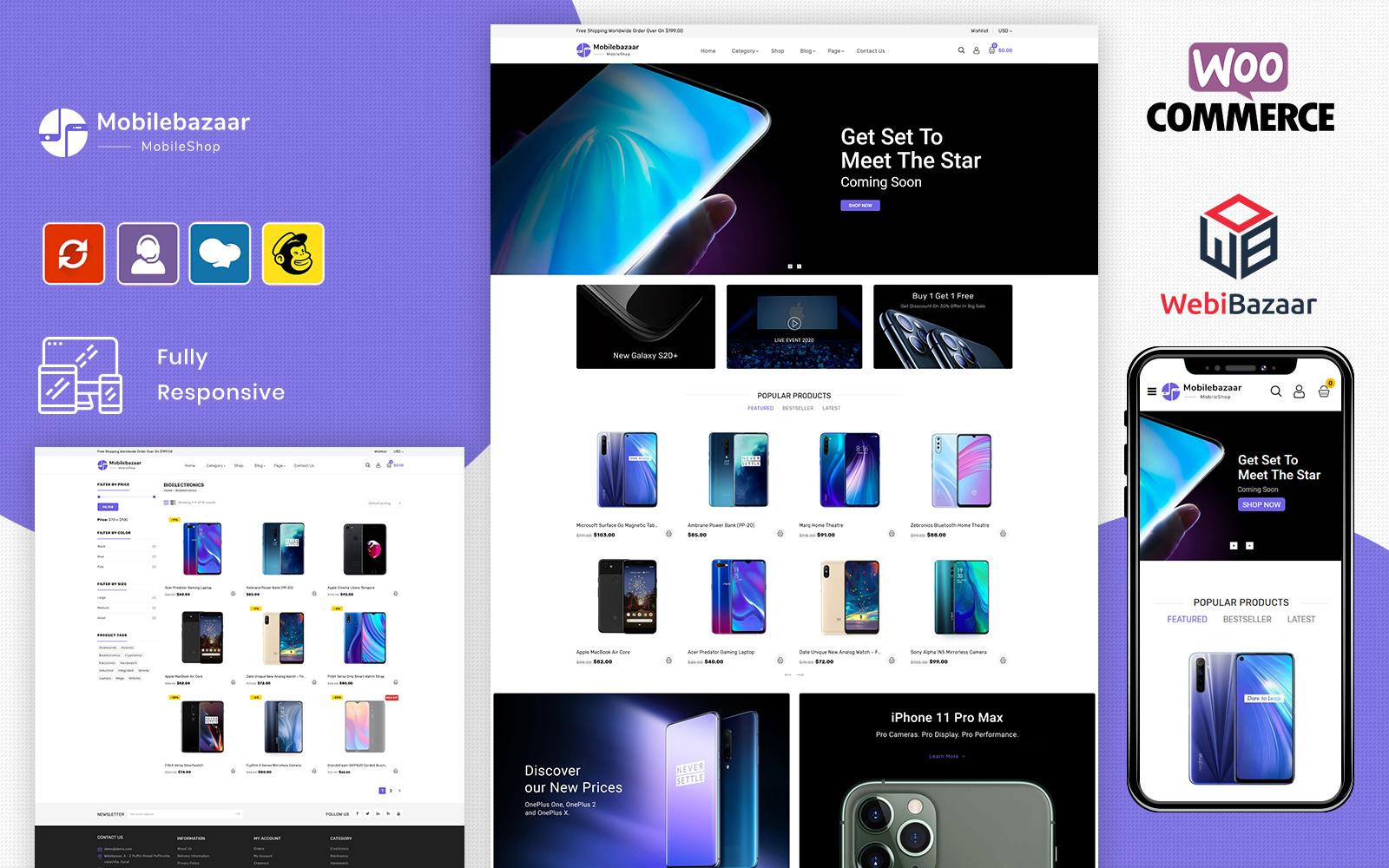 MobileBazaar - Multipurpose Mobile Store WooCommerce Theme