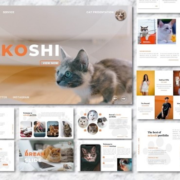 Template Animale de companie Google Slides #107720