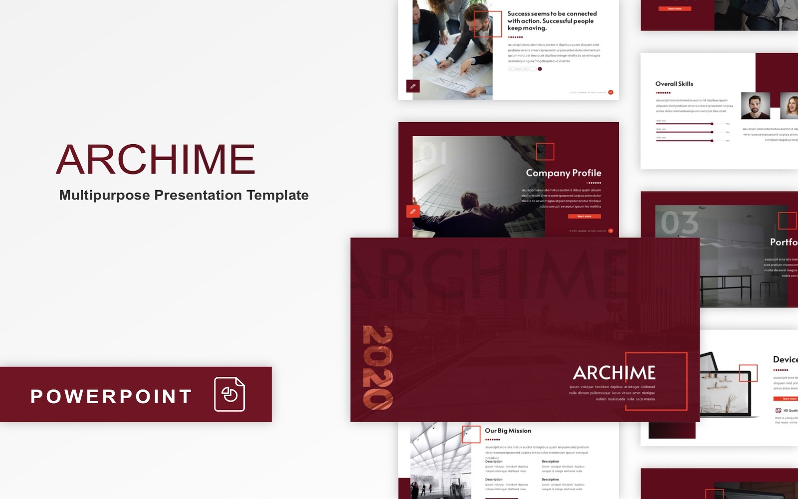 Archime - Multipurpose PowerPoint Template