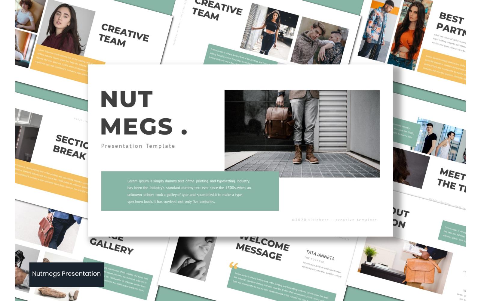 Nutmeg PowerPoint Template