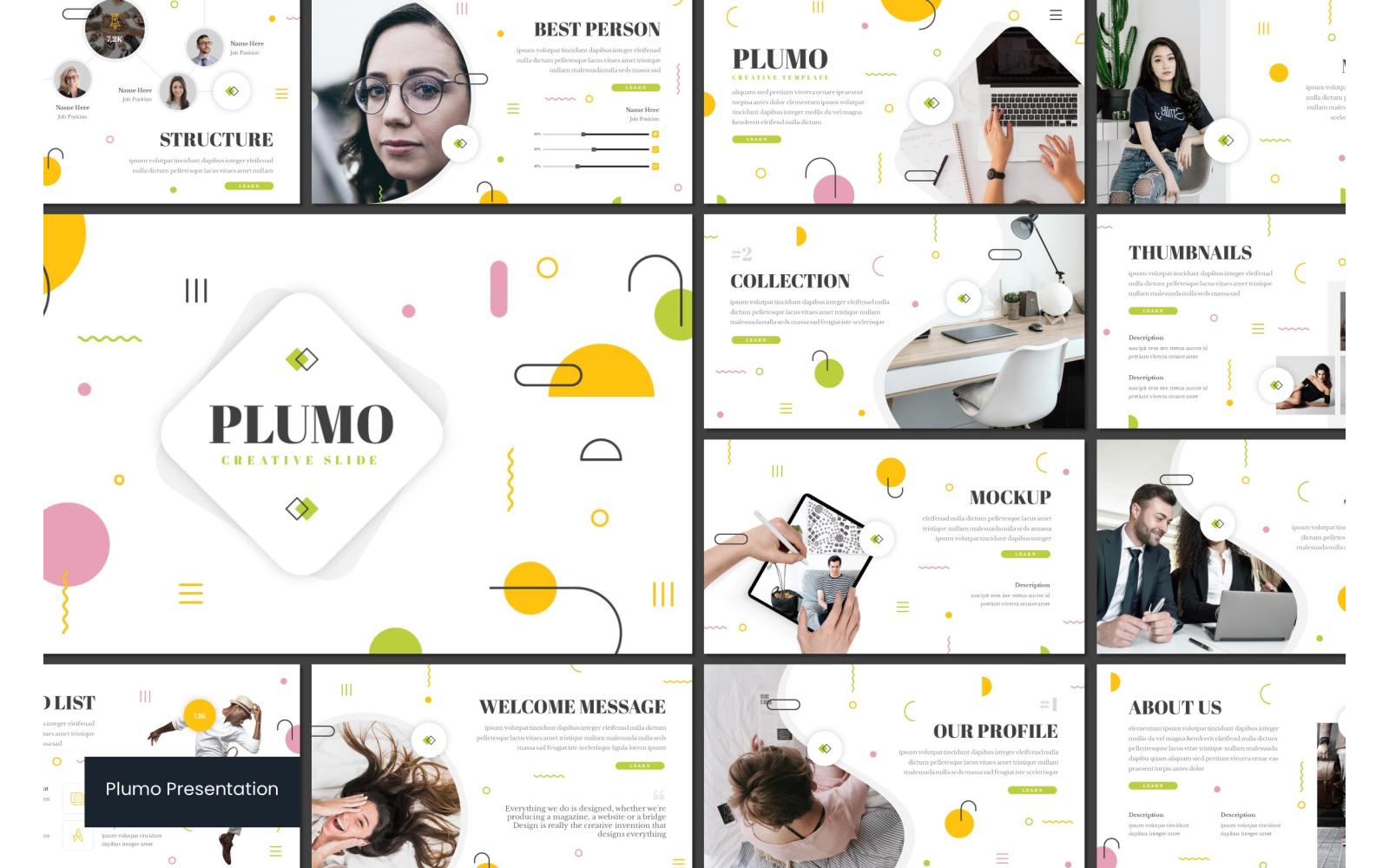 Plumo PowerPoint Template