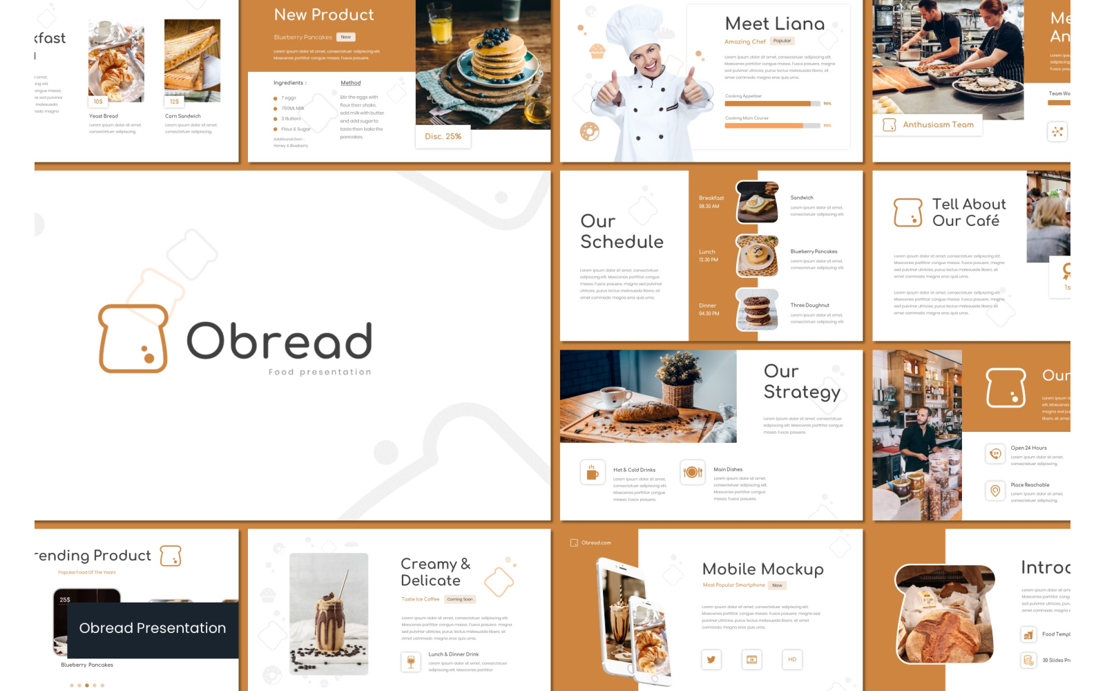 Obread PowerPoint Template