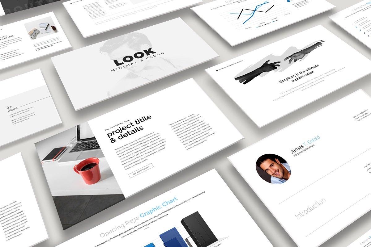 Look-Minimal PowerPoint Template