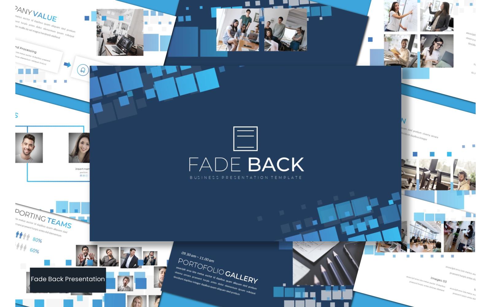 Fadeback PowerPoint Template