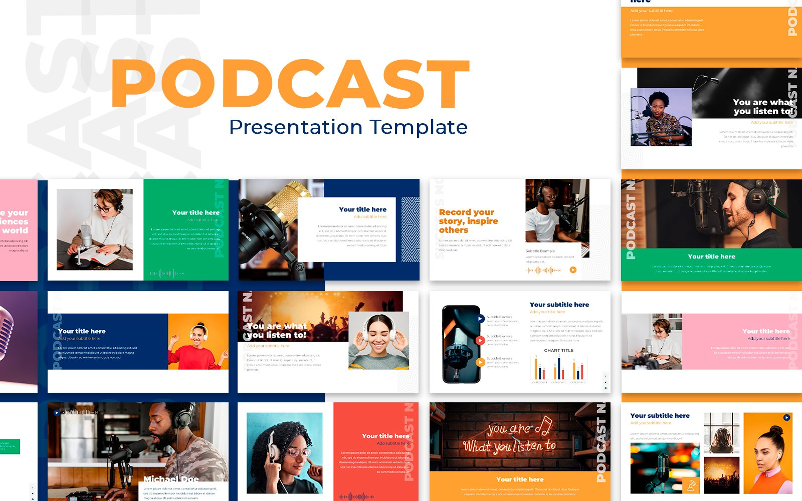 Podcast Presentation PowerPoint Template