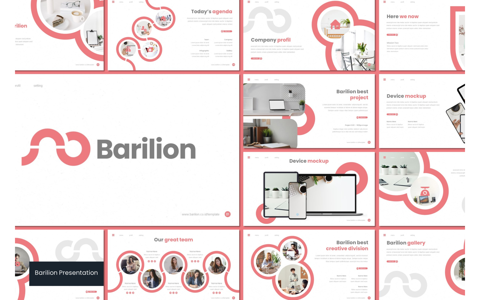 Barilion PowerPoint Template