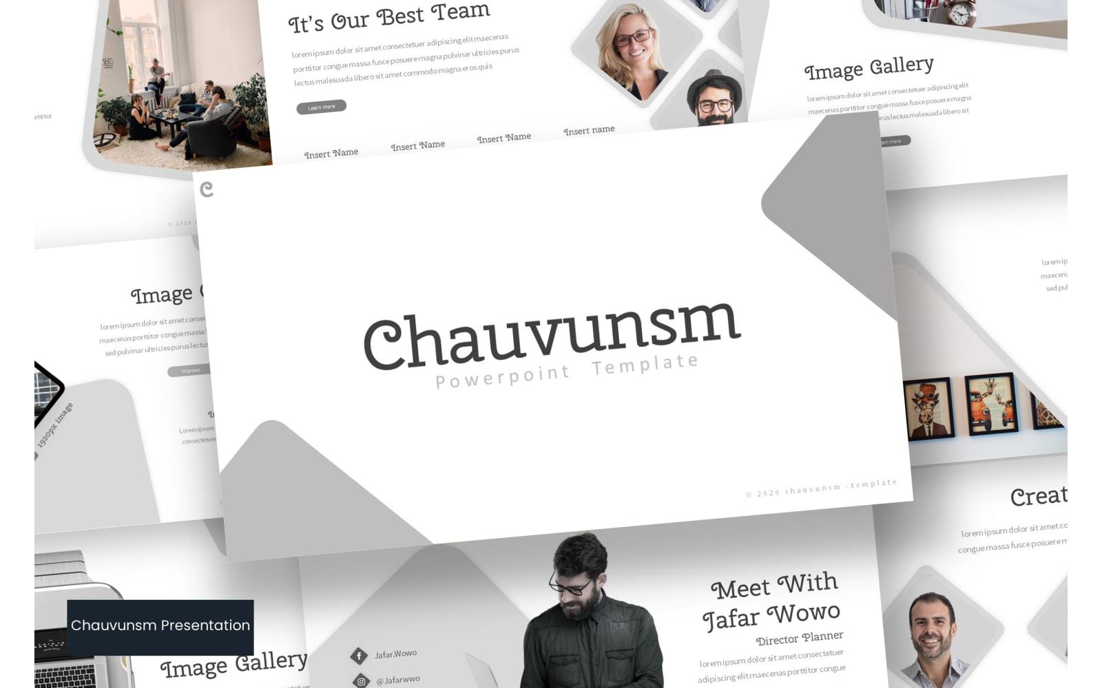 Chauvunsm PowerPoint Template