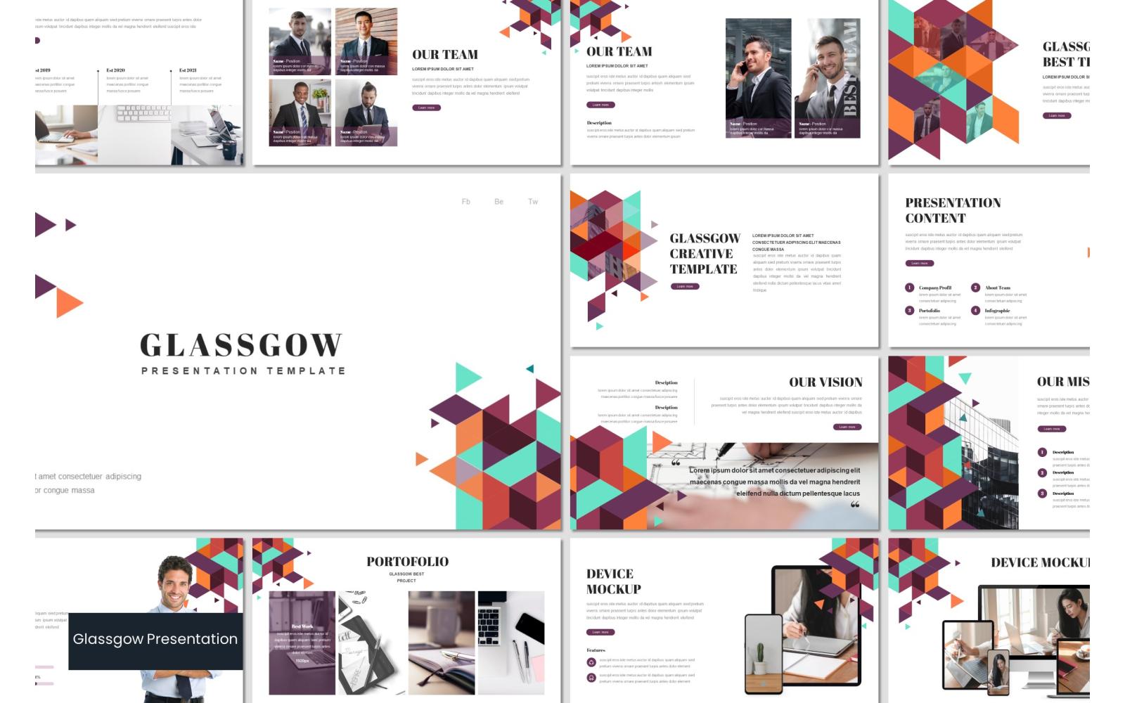 Glassgow PowerPoint Template