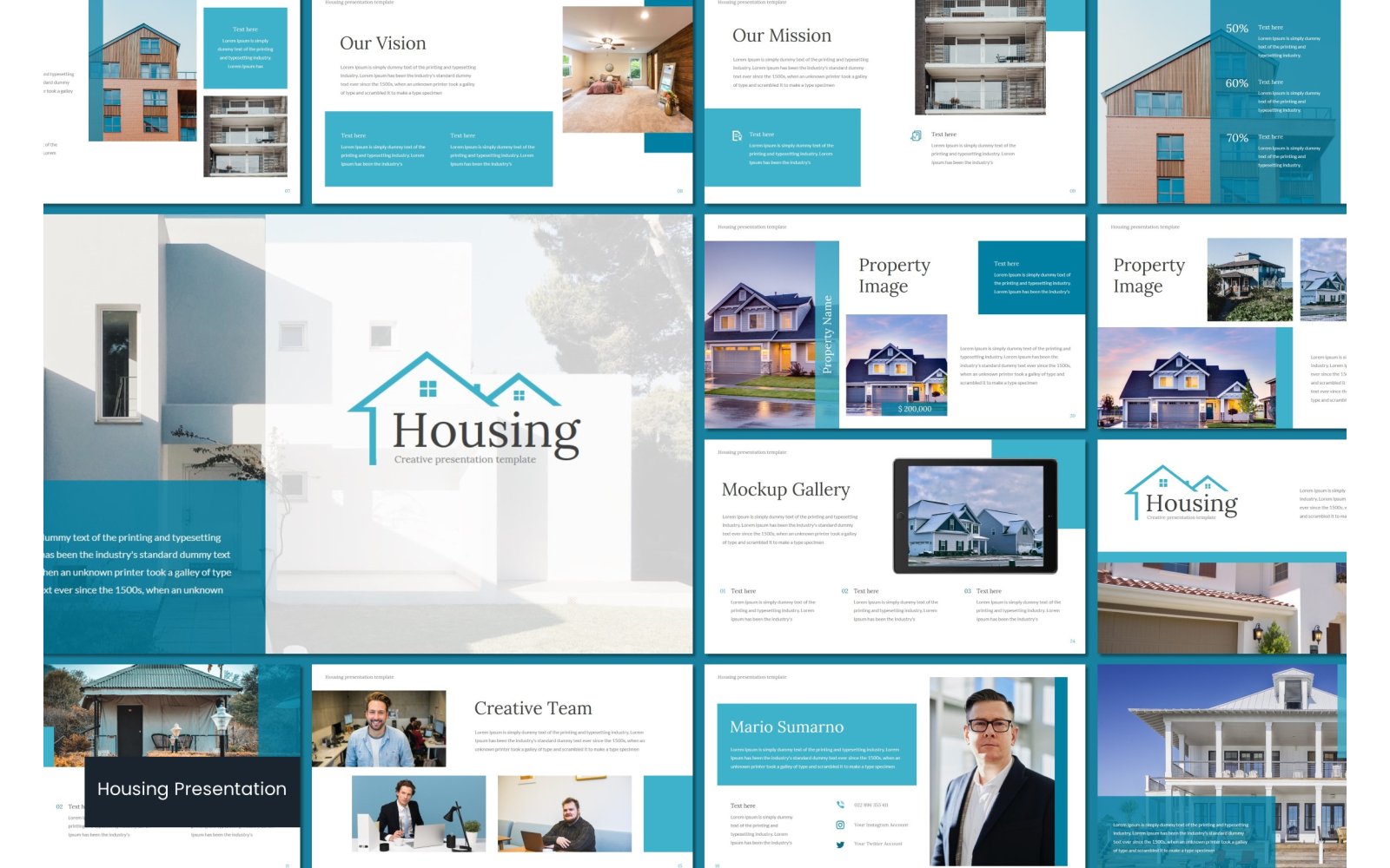 Housing PowerPoint Template