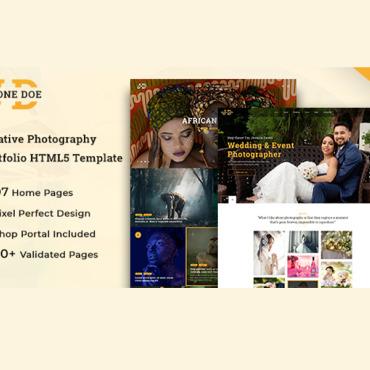 Template Artă și fotografie HTML, JS şi CSS #108496