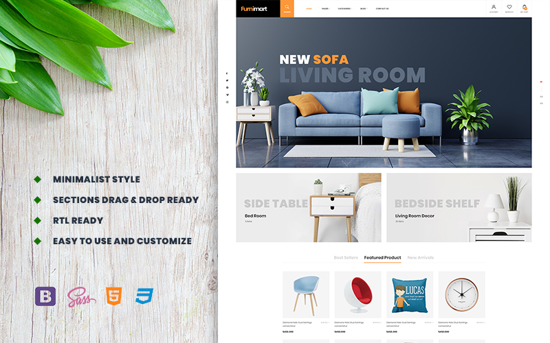 Furnimart | Furniture & Decor Shopify Theme