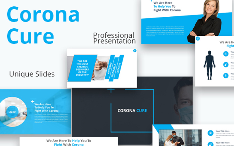 Corona Cure PowerPoint Template