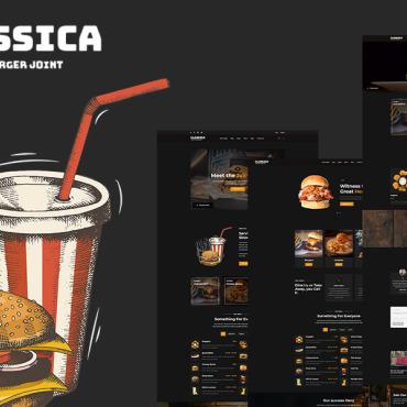 Template Cafenele și restaurante HTML, JS şi CSS #108793