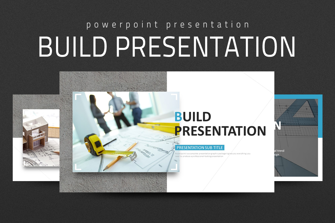 Build Presentation PowerPoint Template