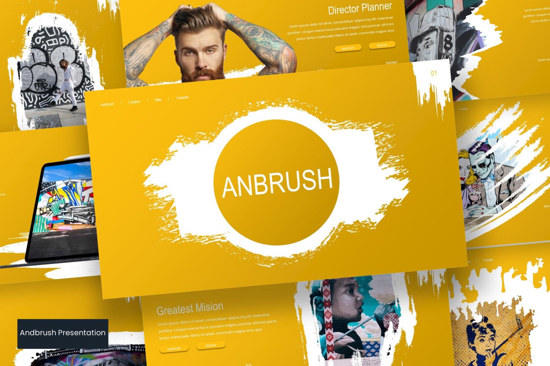 Andbrush PowerPoint Template