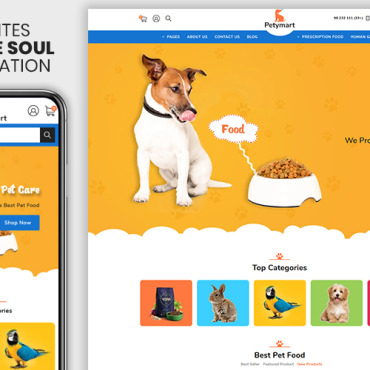 Template Animale de companie Shopify #108971