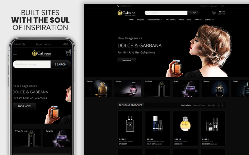 Calveen - The Perfume Responsive Shopify Theme