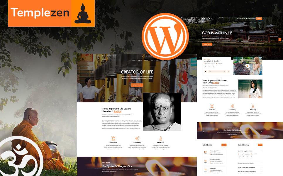 Templezen - Temple WordPress Theme