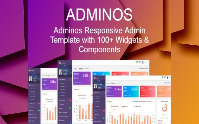 Adminos Responsive Dashboard Admin Template