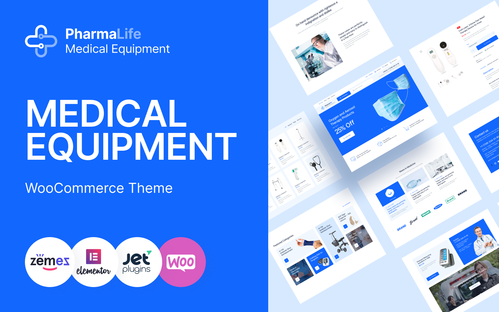 PharmaLife - Pharmacy WooCommerce WordPress Responsive Theme