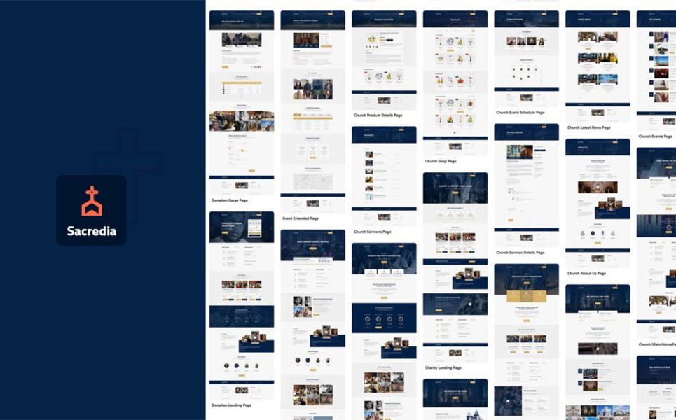 Sacredia | Church WordPress Theme