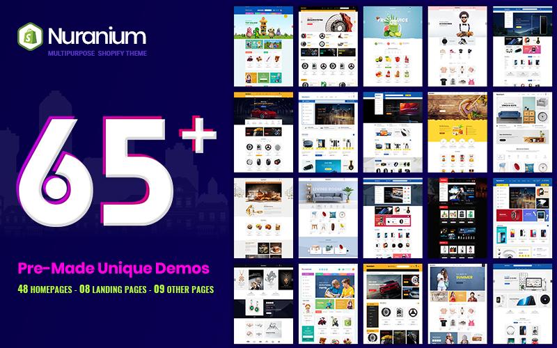 Nuranium | Multi-Purpose Shopify Theme