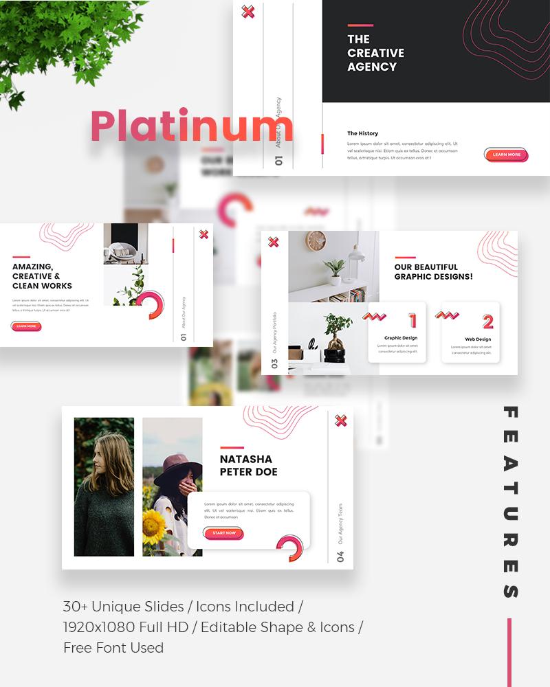 Platinum Creative PowerPoint Template