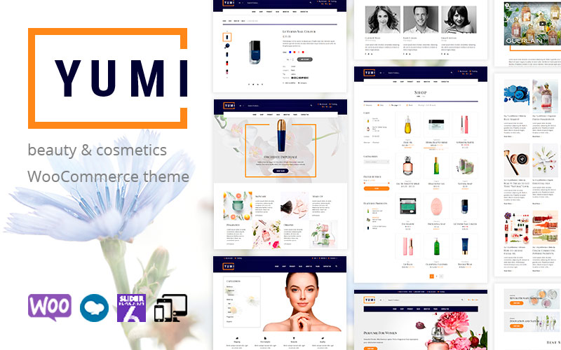 Yumi - beauty & cosmetics WooCommerce Theme