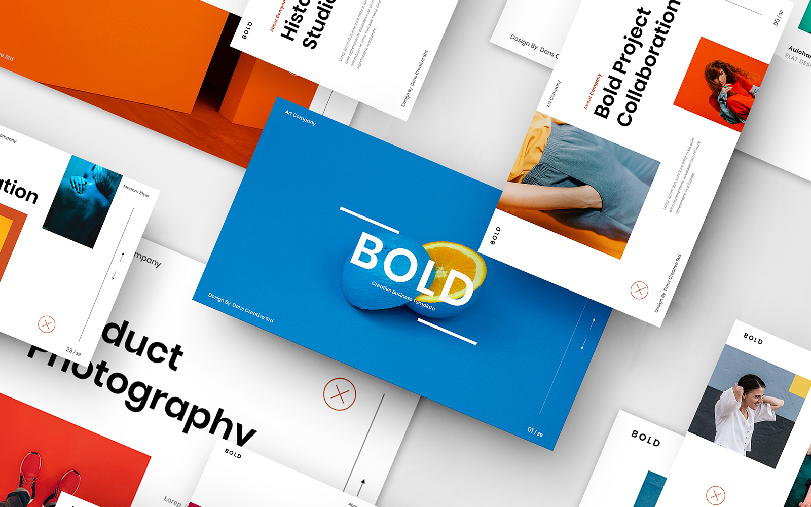 Bold – Creative Business PowerPoint Template